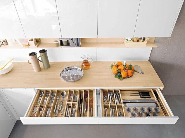 Zorganizuj swoją kuchnię dzięki 20 pomysłom na przechowywanie