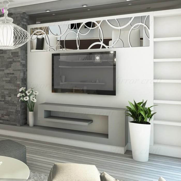15 wspaniałych pomysłów na dekorowanie domu za pomocą naklejek 3D