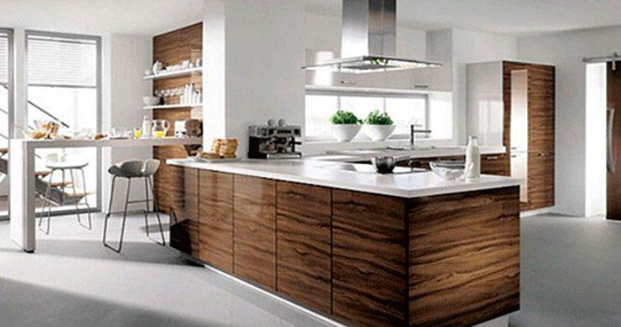 Ultra nowoczesne wyspy kuchenne