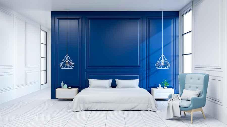 Pantone Kolor 2020 w sypialni
