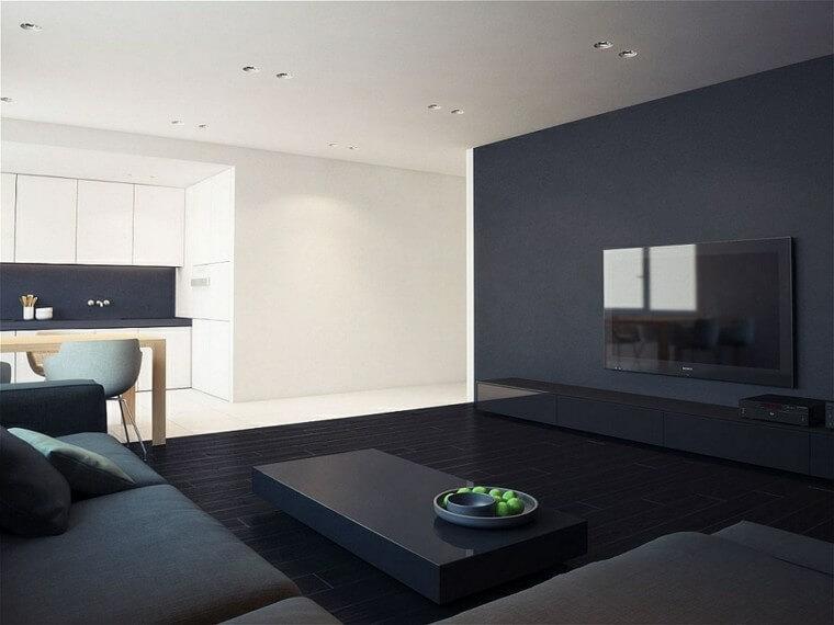 Minimalistyczny i atrakcyjny wystrój domu
